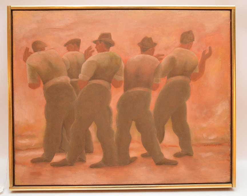 Horace Asher Brodzky (AUSTRALIAN, 1885-1969) oil on