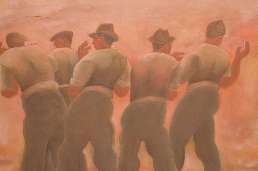 Horace Asher Brodzky (AUSTRALIAN, 1885-1969) oil on - 2
