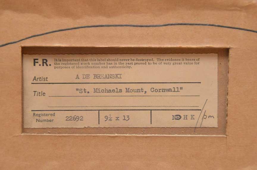 Alfred Fontville De Breanski Jr  (United Kingdom 1877 - - 6