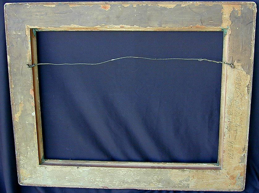 Early 20thC Taos School Picture Frame - 2
