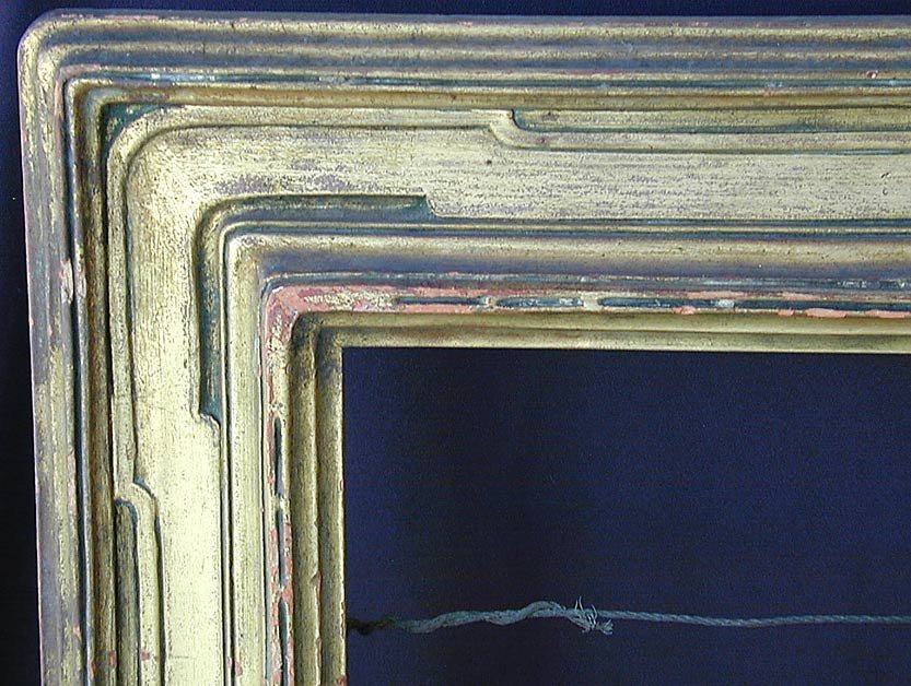 Early 20thC Taos School Picture Frame - 3