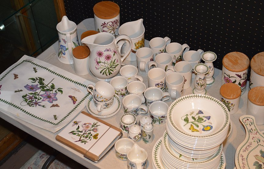 "Port Meirion china set, ""The Botanic Garden"" combined - 2"