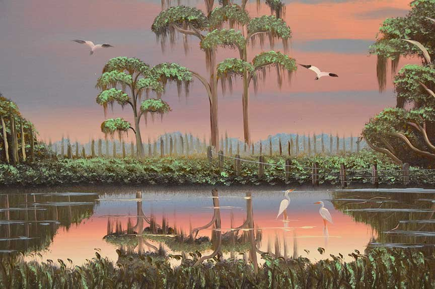 "Albert ""Al"" Black (American, b.1946), Florida - 4"