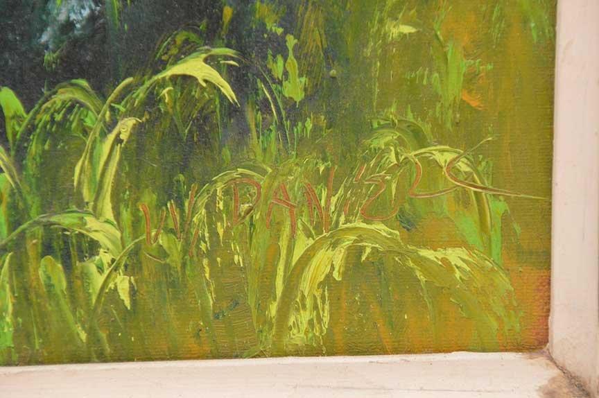 """Florida Highwaymen Painting by Willy Daniels  """"River - 3"""
