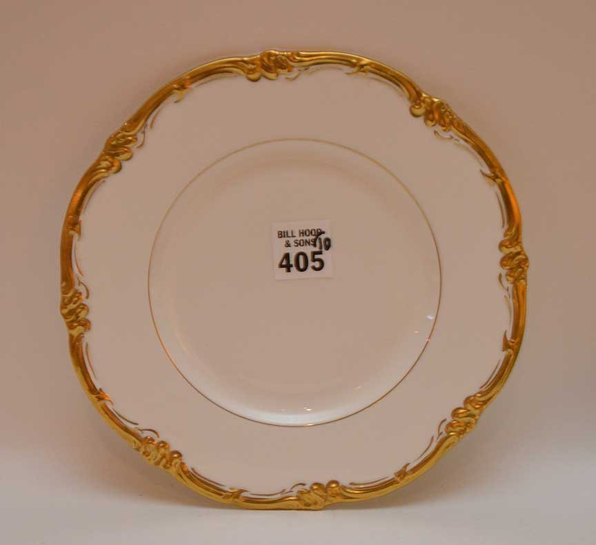 "10 Cauldon salad plates, 8""dia - 2"