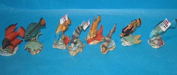 """10: (8) Italian little fish, ranging from 2 1/8""""l to 3"""""""