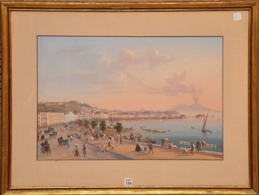 Gioacchino LaPira (ITALIAN, 1839-1870) Very Fine 19C