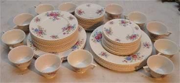 Lenox porcelain partial china service incl 10 dinner
