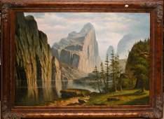 1064: In the style of Albert Bierstadt, 20th Century D