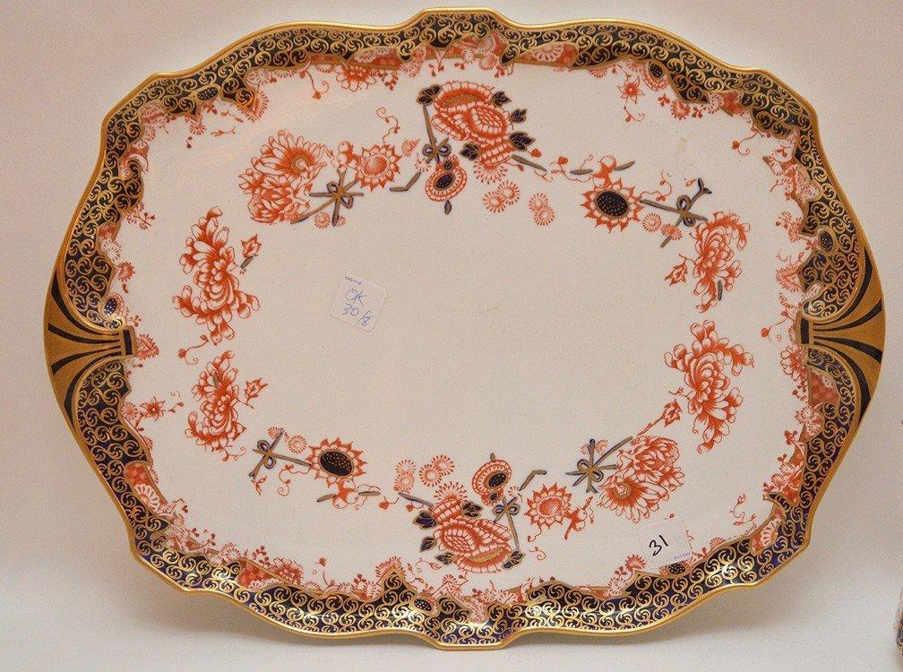 """8 Pieces Royal Crown Derby """"Imari"""" Porcelain , tea & - 3"""