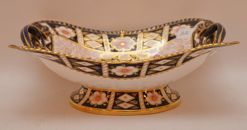 "11 Piece Royal Crown Derby ""Imari"" Part Porcelain - 6"