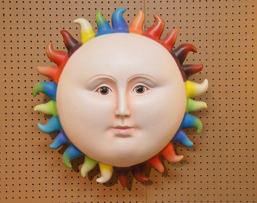 SERGIO BUSTAMANTE Sun Sculpture.  Condition: the piece