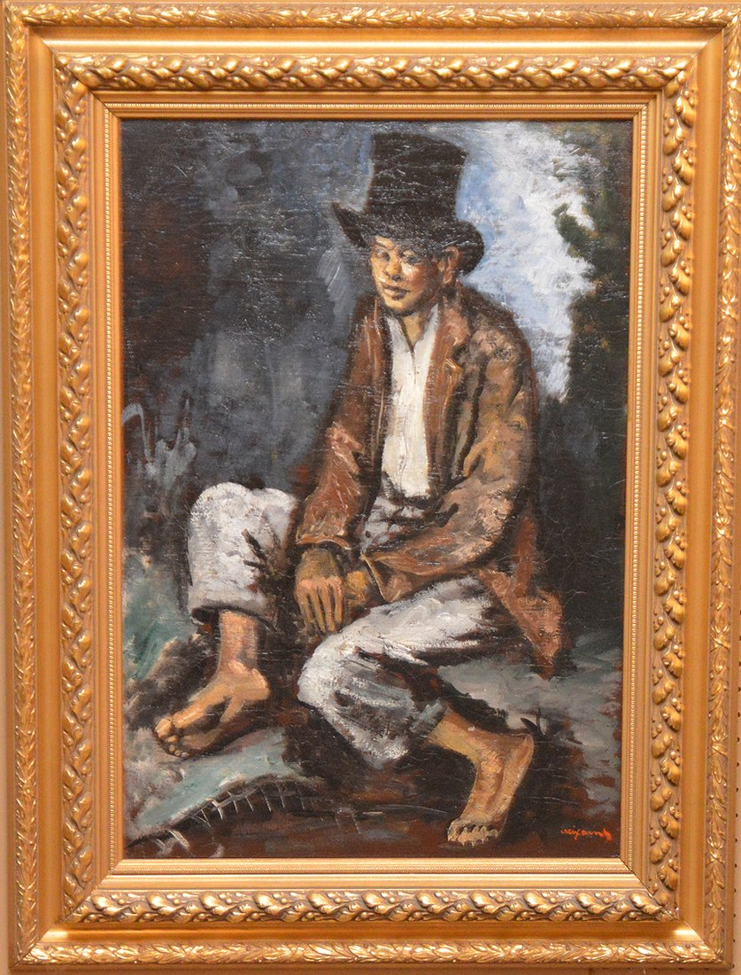 """PEDRO PIERRE CREIXAMS, Spanish 1893-1965,  """"Seated Boy"""