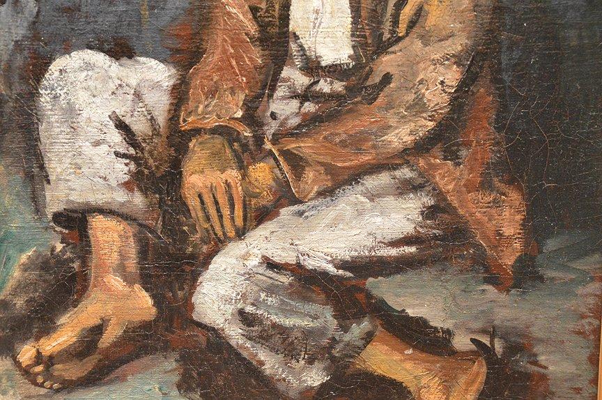 """PEDRO PIERRE CREIXAMS, Spanish 1893-1965,  """"Seated Boy - 3"""