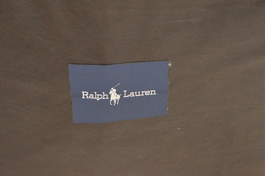 Ralph Lauren Wing Back Chair with green velvet and - 4