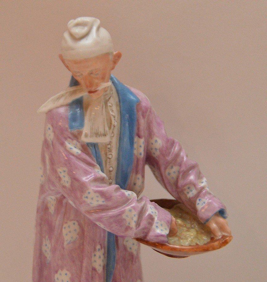"""B & G Orientalist & Rudelstadt figures, 6 1/2""""h and 6""""h - 3"""