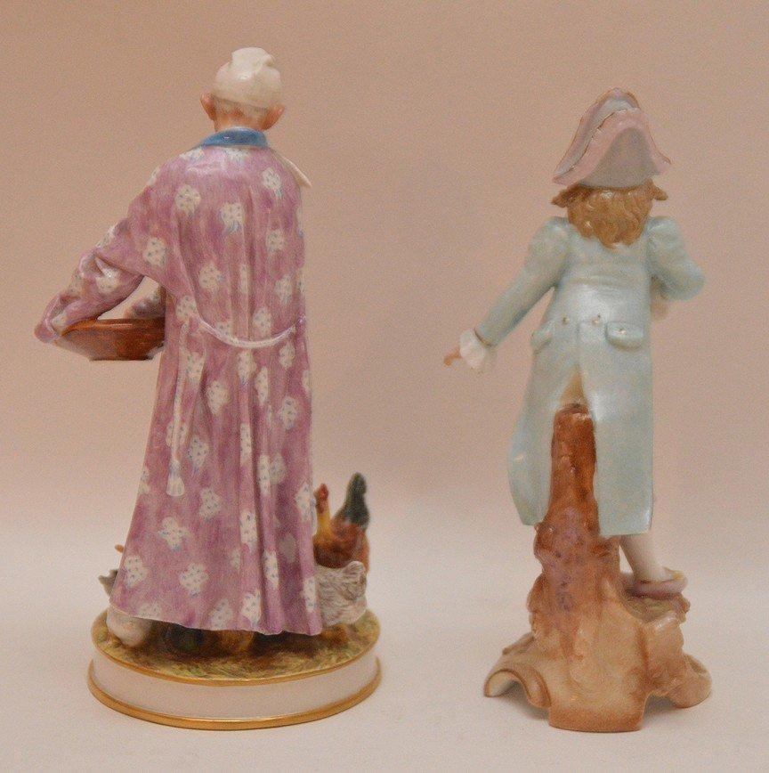 """B & G Orientalist & Rudelstadt figures, 6 1/2""""h and 6""""h - 5"""