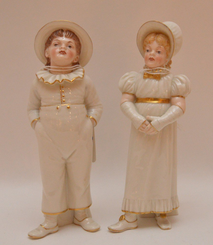 Royal Worcester salt & pepper, 6 3/4""