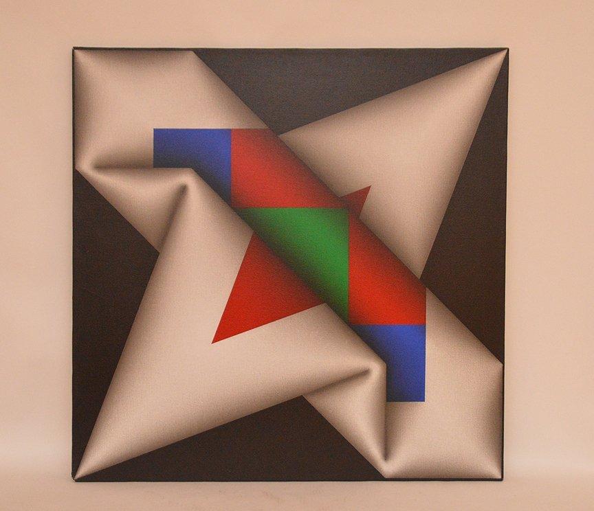Omar Rayo COLOMBIAN Acrylic/Canvas Narabruz Modern Ptng - 2
