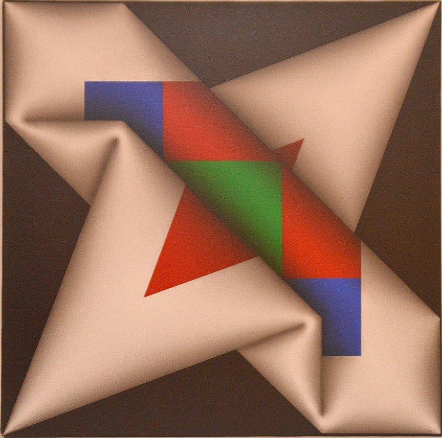 Omar Rayo COLOMBIAN Acrylic/Canvas Narabruz Modern Ptng - 6