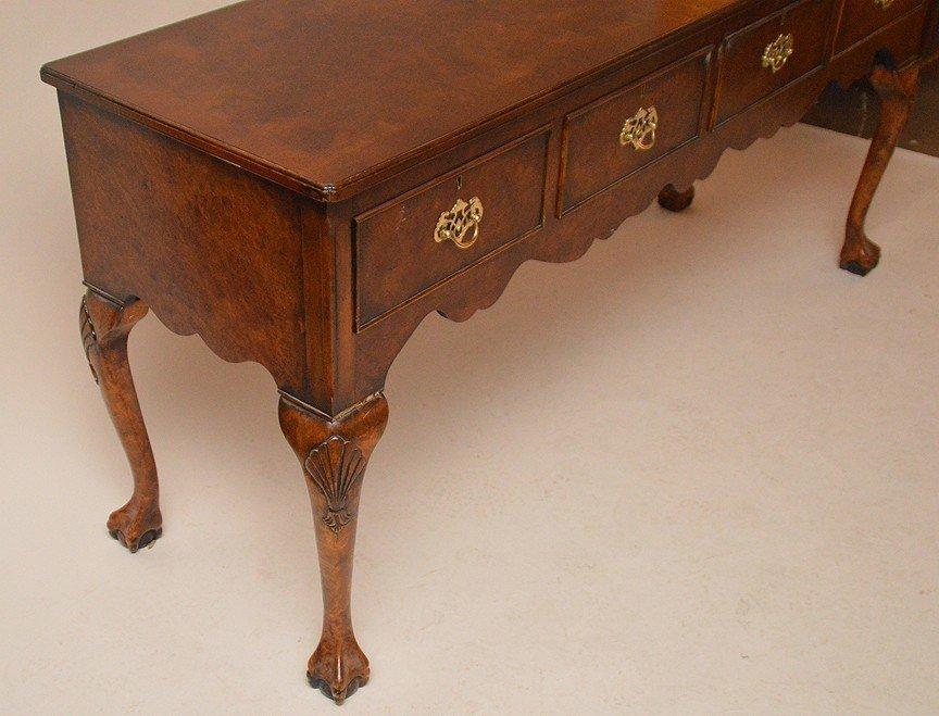 Fine custom sideboard, 4 side by side drawers on Queen - 2