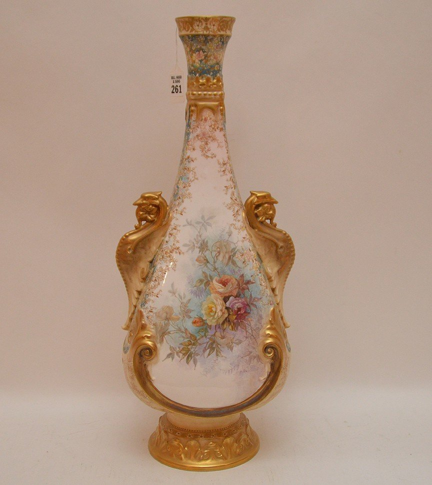 "Large Doulton Burselem Porcelain Vase. Ht. 20"""