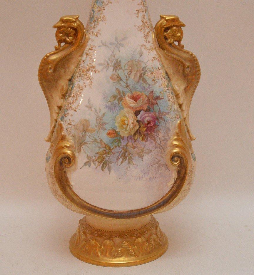 "Large Doulton Burselem Porcelain Vase. Ht. 20"" - 2"
