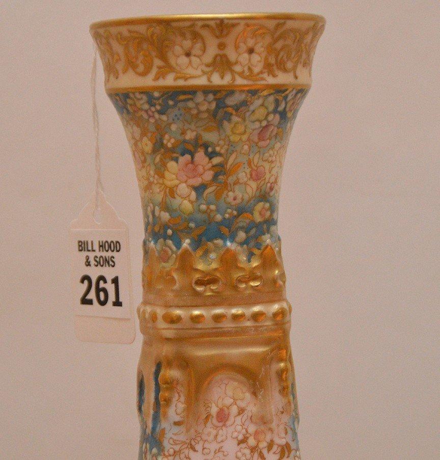 "Large Doulton Burselem Porcelain Vase. Ht. 20"" - 4"