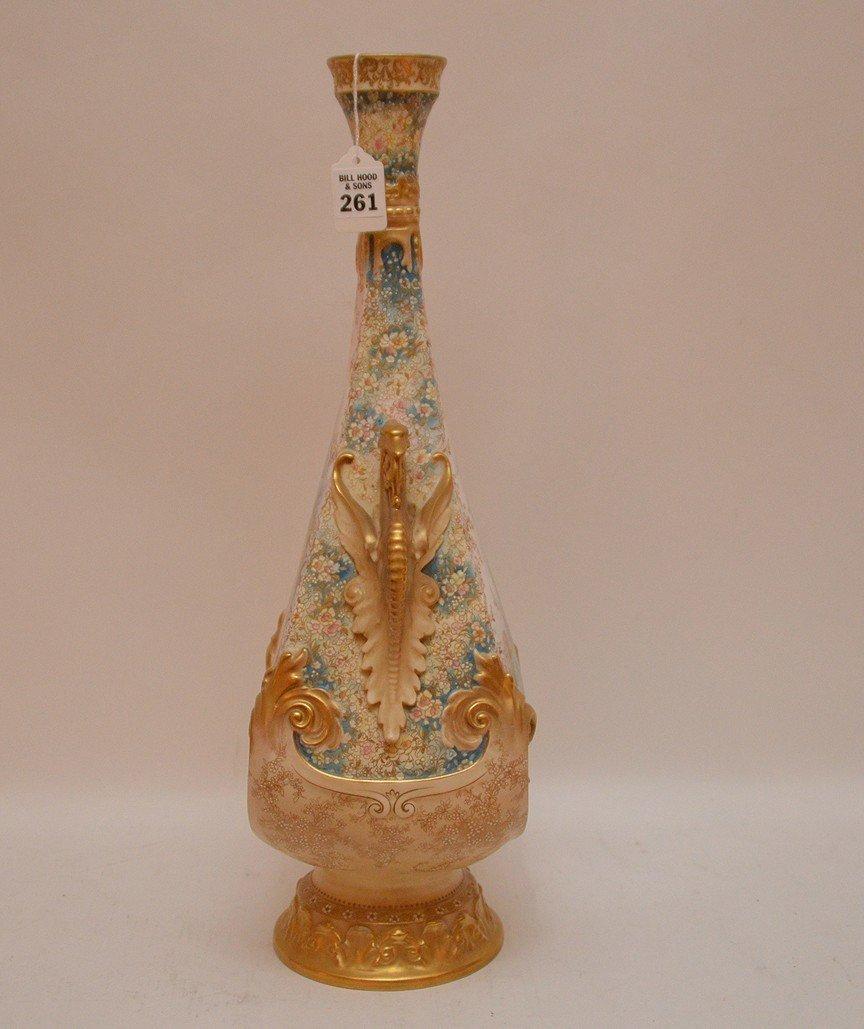 "Large Doulton Burselem Porcelain Vase. Ht. 20"" - 5"