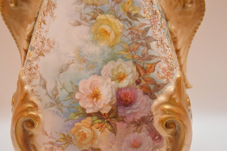 "Large Doulton Burselem Porcelain Vase. Ht. 20"" - 7"