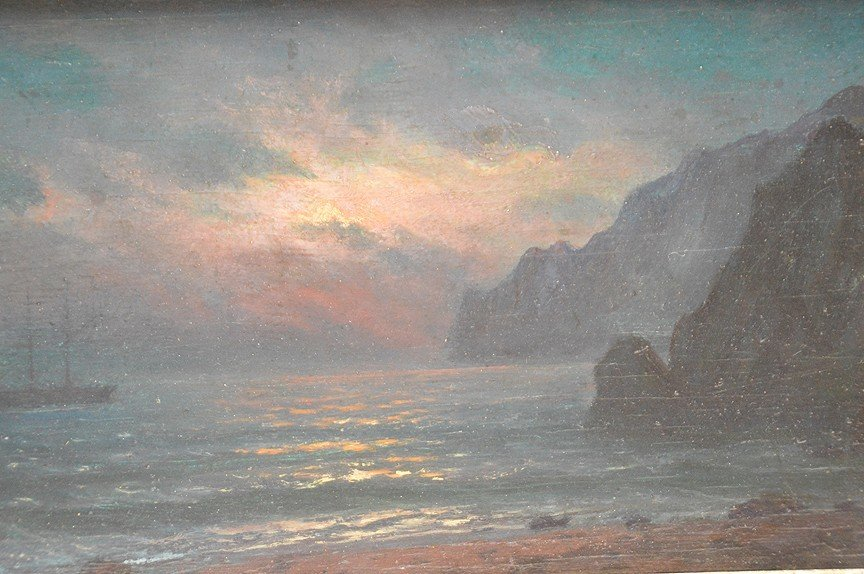 Attributed to: Ivan Konstantinovich Aivazovsky - 2