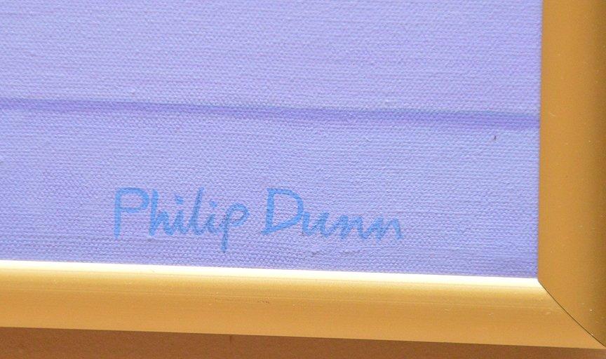 Philip Dunn (BRITISH, 20th Century) oil on canvas, - 4