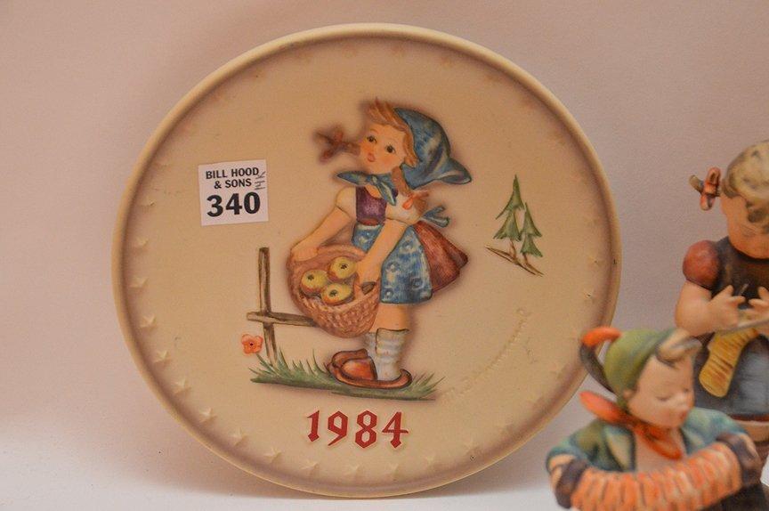 (14) assorted Hummel's and (1) 1984 Hummel plate - 4