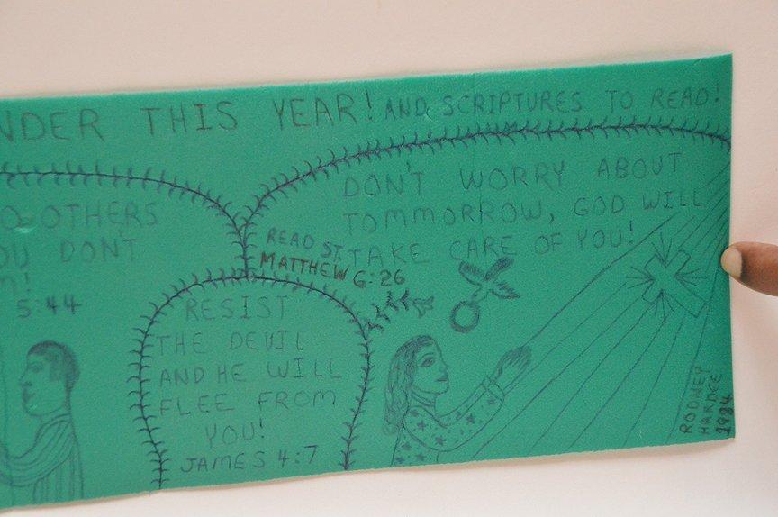 Happy New Year, Rodney Hardee folk artist from - 7