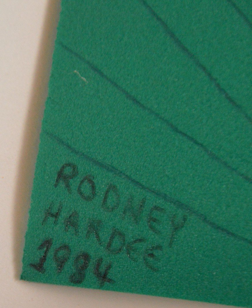 Happy New Year, Rodney Hardee folk artist from - 9