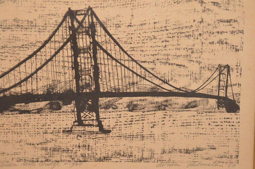 """RUBENSTEIN, California 20th Century, """"Golden Gate - 2"""
