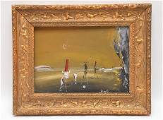 Salvador Dali  (Spain 1904 - 1989) Original Painting