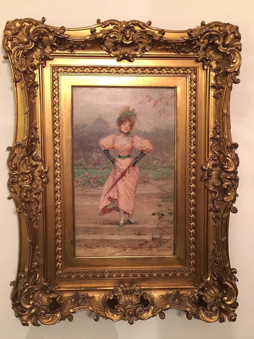 Frederik Hendrik Kaemmerer DUTCH 1839-1902 oil Painting