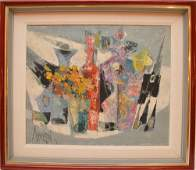 René Margotton (France 1915 - 2009) oil on canvas,