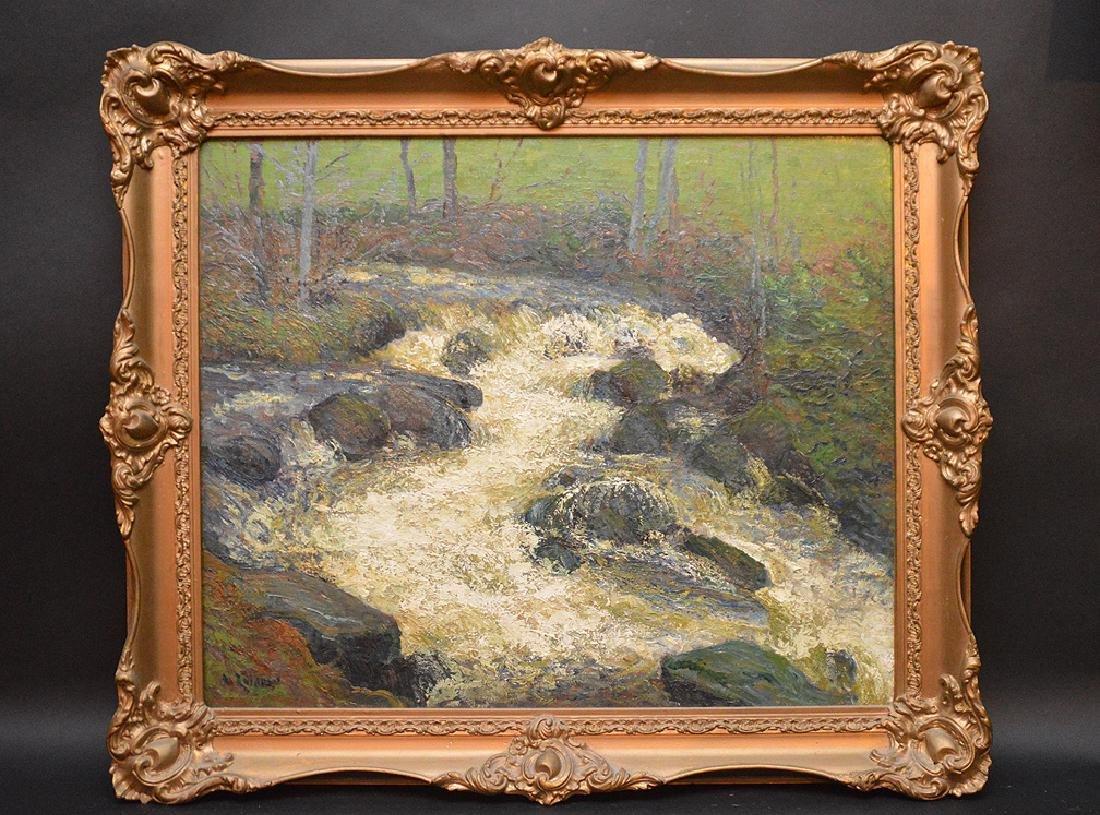 "GUSTAVE LOISEAU, French 1865-1935, ""Le Torrentâ€,"