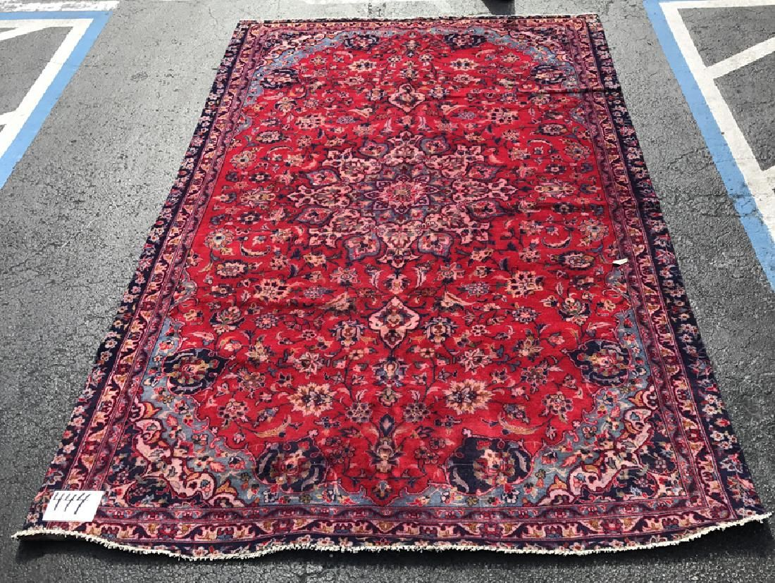 "Large Persian rug, 11"" x 7'5"""