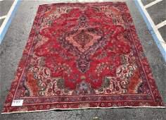 "Large Persian rug, 10'7"" x 8'2"""