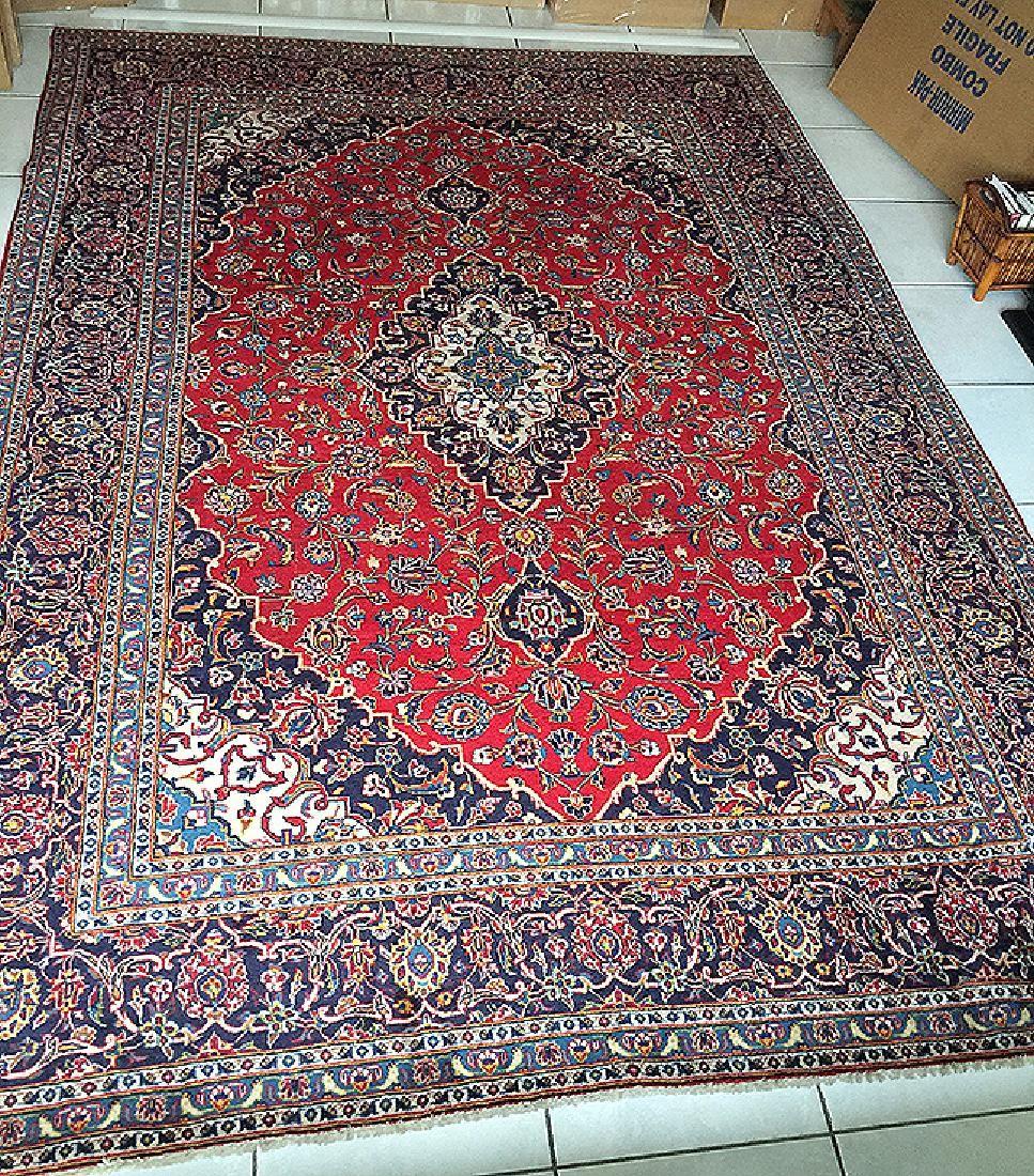 "Large Persian rug 11'9"" x 8'"