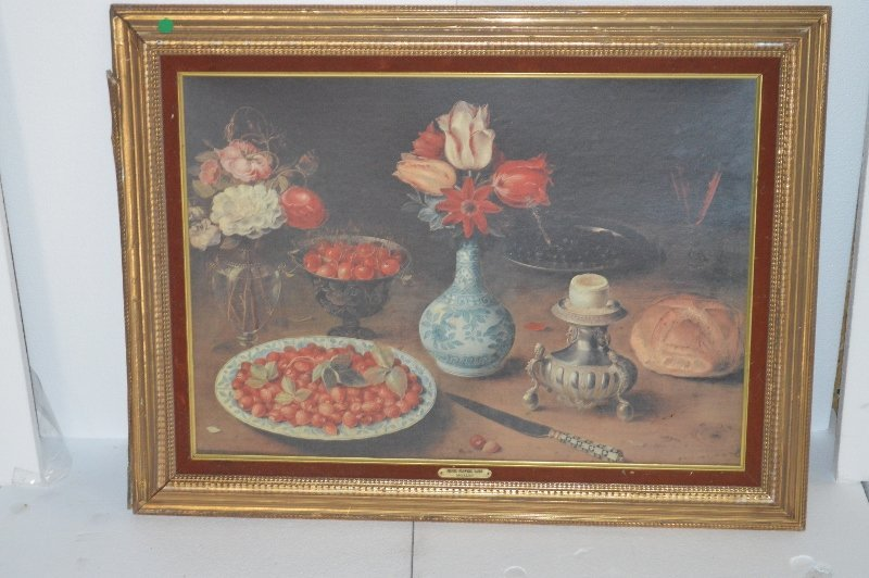 Tomato & Flowers Painting