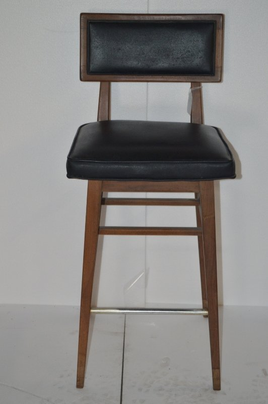 High Seated Wooden Stool