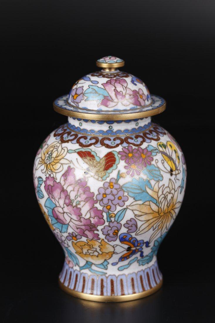 A Cloisonne General Jar