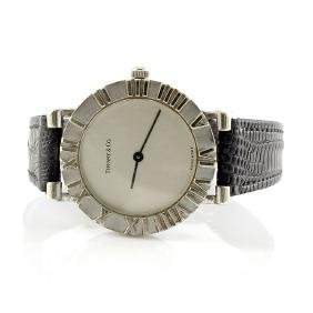 Tiffany & Co. Sterling Silver Atlas Watch