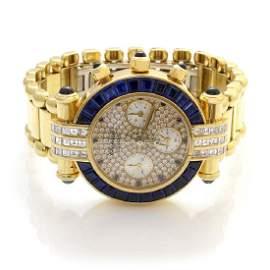 Chopard Imperiale Diamond Sapphire 18K Gold Watch
