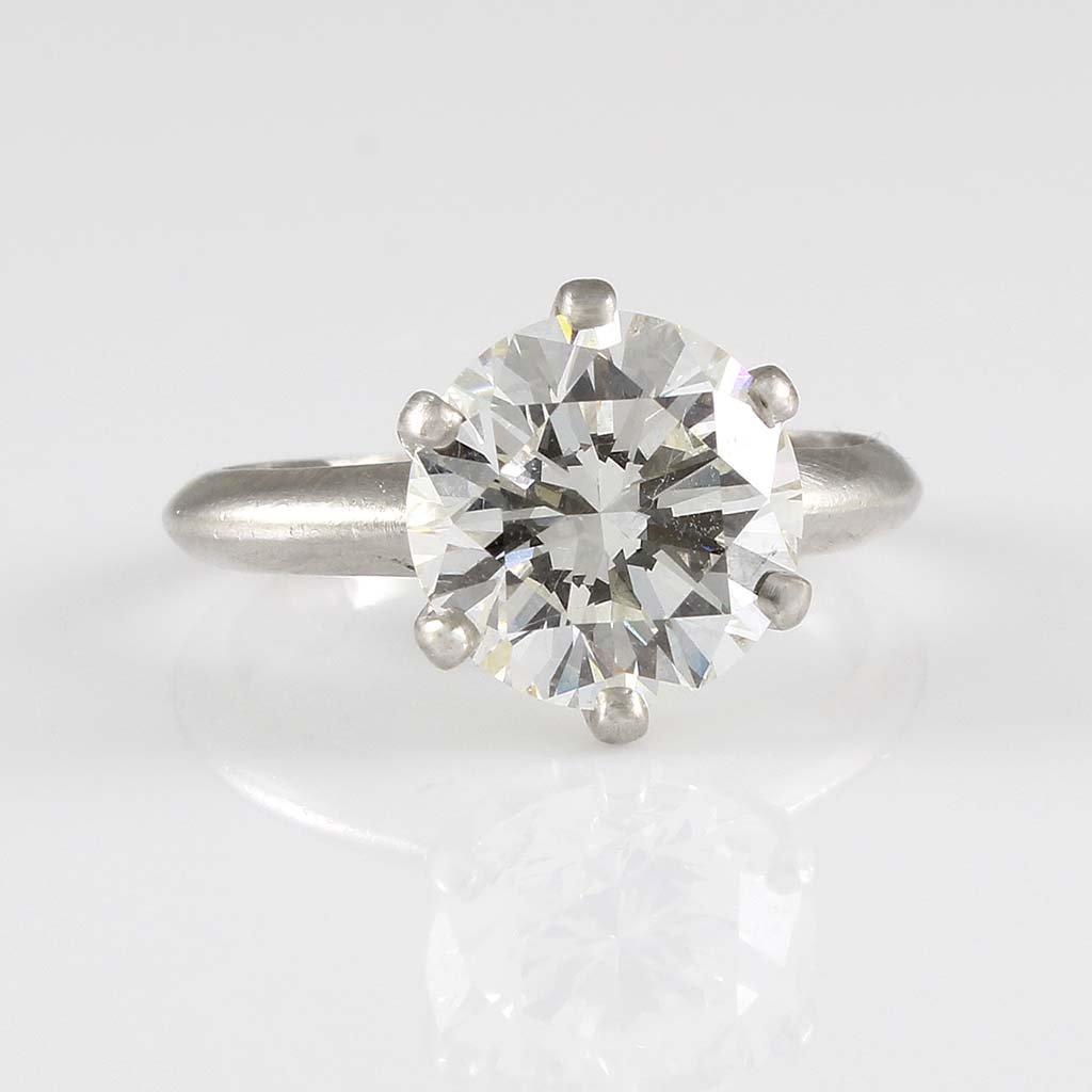Tiffany & Co. Diamond Platinum Ring - 2