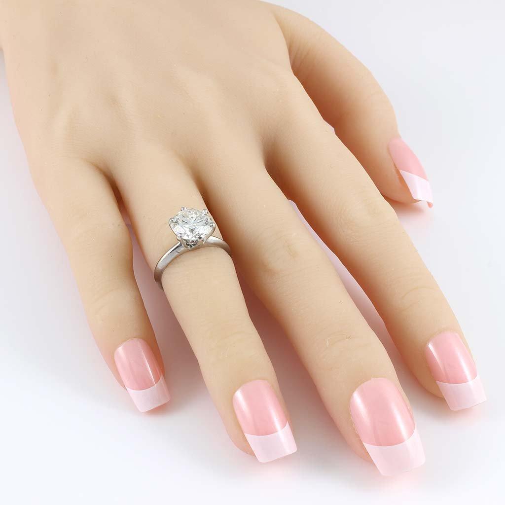 Tiffany & Co. Diamond Platinum Ring - 5